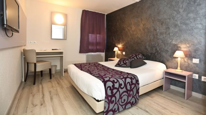 Chambre double (confort) Hotel The Originals Mulhouse Est (ex P'tit Dej Hotel)