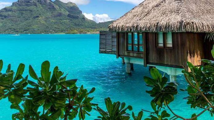 Hotel The St Regis Bora Bora Resort 5 Hrs Star Hotel In