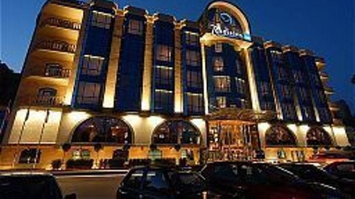 Exterior View Radisson Blu Hotel Rostov On Don