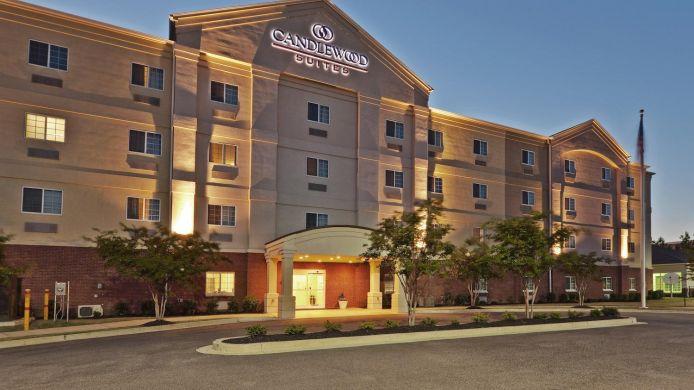 Exterior View Candlewood Suites Memphis