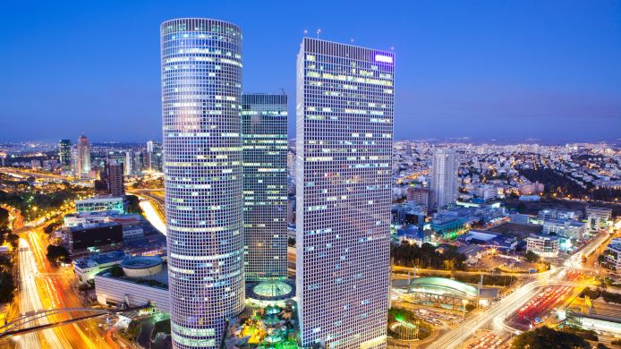 Außenansicht Crowne Plaza TEL AVIV CITY CENTER