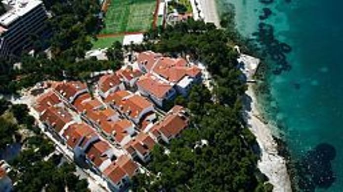 Vista exterior Beach Apartments Lavica
