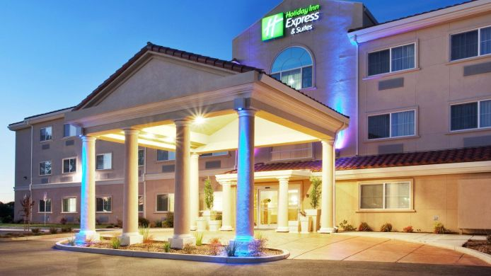 Außenansicht Holiday Inn Express & Suites OROVILLE LAKE