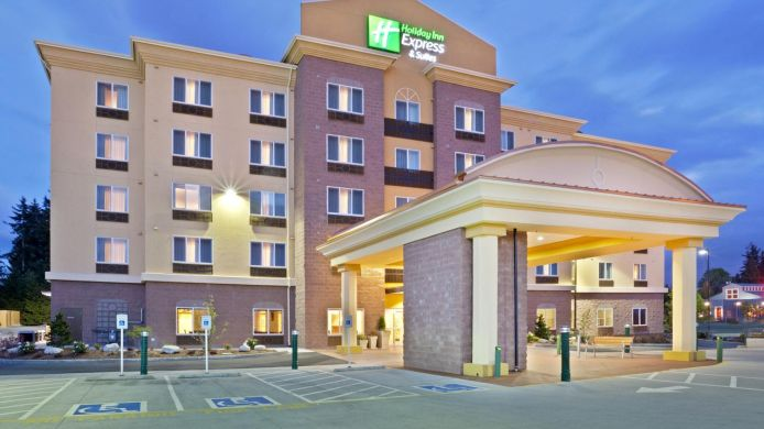 Außenansicht Holiday Inn Express & Suites SEATTLE NORTH - LYNNWOOD