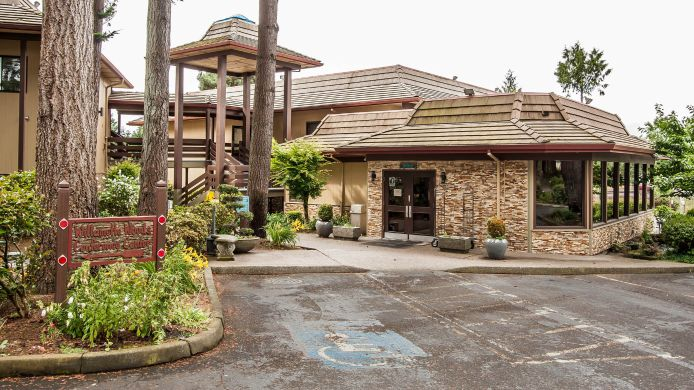 Exterior View Quality Inn Wilsonville