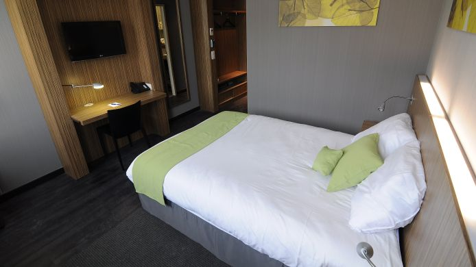 Doppelzimmer Standard Best Western Brussels South