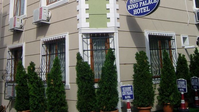 Exterior View Sultanahmet King Palace Hotel