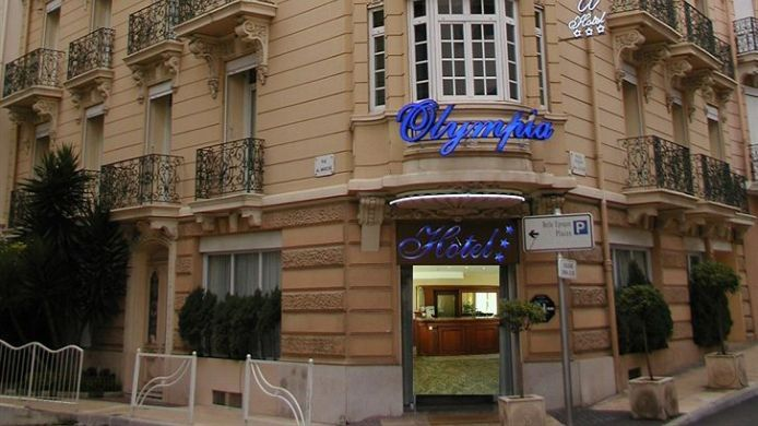 Vue extérieure Hotel Olympia
