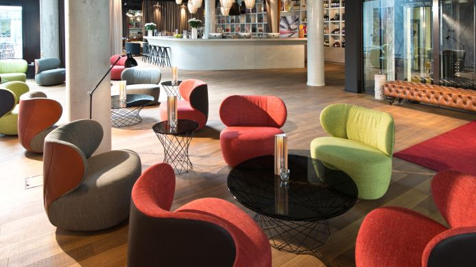 Empfang i31 Boutique Hotel