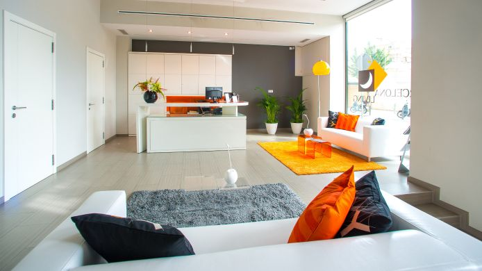 Empfang Ona Living Barcelona Apartments