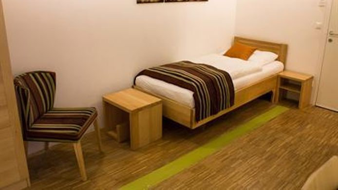Chambre individuelle (standard) Mocca