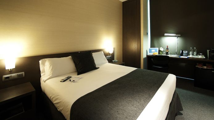 Doppelzimmer Standard Air Rooms Barcelona Airport by Premium Traveller