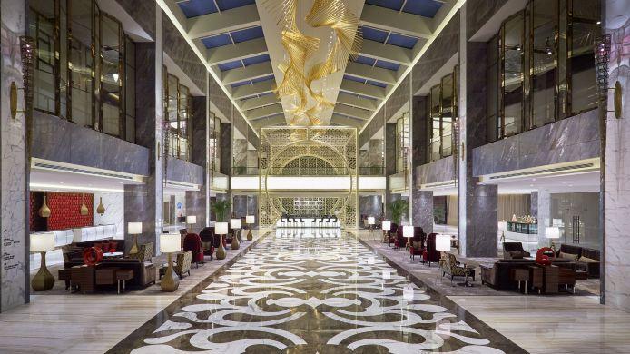Hotel gran meli xian 5 hrs star hotel in xi 39 an for Design hotel xian