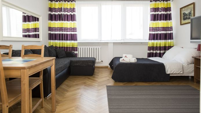 Chambre individuelle (standard) Hosapartments City Center