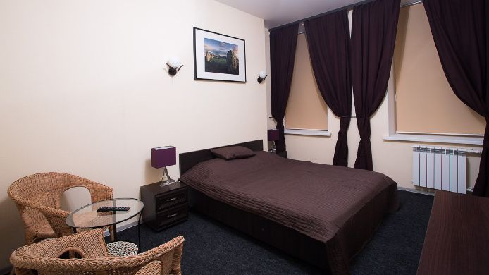 Chambre double (standard) Mini Hotel on Nevsky 136