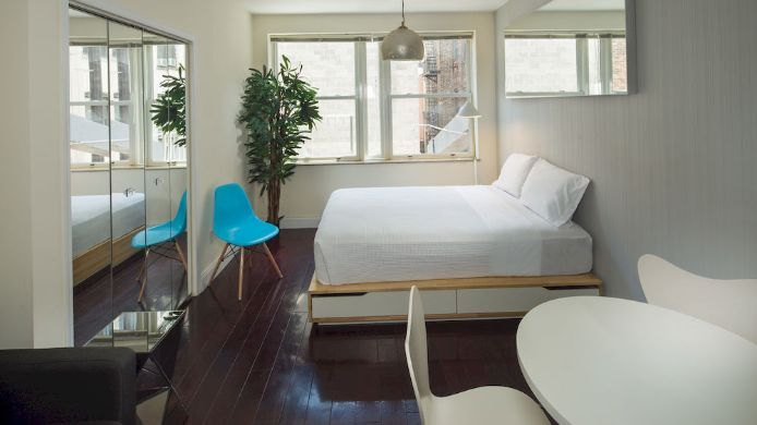 Außenansicht Studio Self Catering Apt Lower East Side
