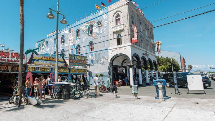 Exterior View Samesun Venice Beach