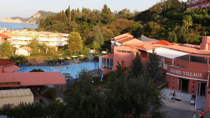 Exterior view Cyprotel Corfu Panorama All Inclusive
