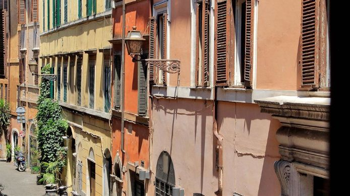 Exterior View Trastevere Apartments Sant Egidio Area