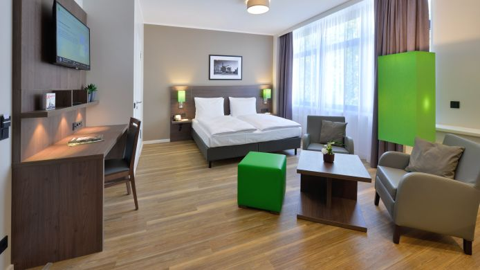 Business-Zimmer appartello smarttime living Hamburg