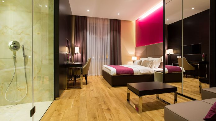 Junior-suite MACCANI LUXURY SUITES