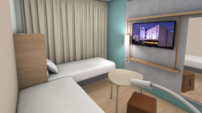 Hotel ibis budget Amsterdam City South – Hôtel 2 étoiles