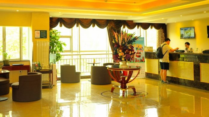 Empfang GreenTree Inn South TongJi Road (Domestic only)