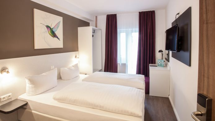 Chambre double (standard) Hotel West