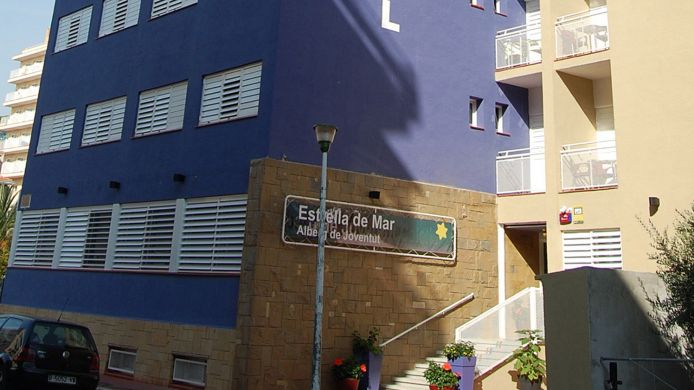 Vista exterior Estrella de Mar Youth Hostel