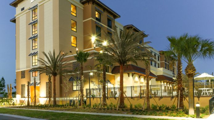 Außenansicht Fairfield Inn & Suites Clearwater Beach