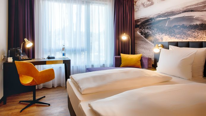 Chambre double (confort) Welcome Hotel Neckarsulm