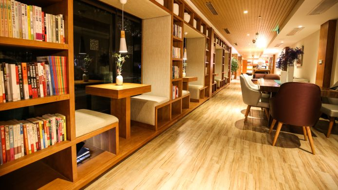 Vista all'interno SSAW Boutique Hotel Shanghai Yilin
