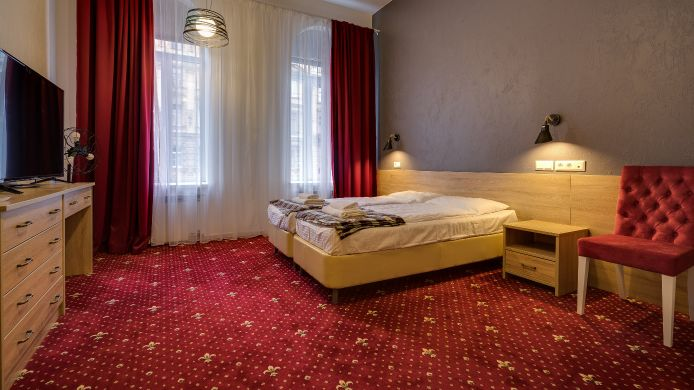 Doppelzimmer Standard The Red Hotel