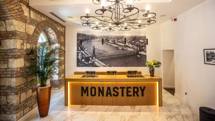 Réception Monastery Boutique Hotel Budapest