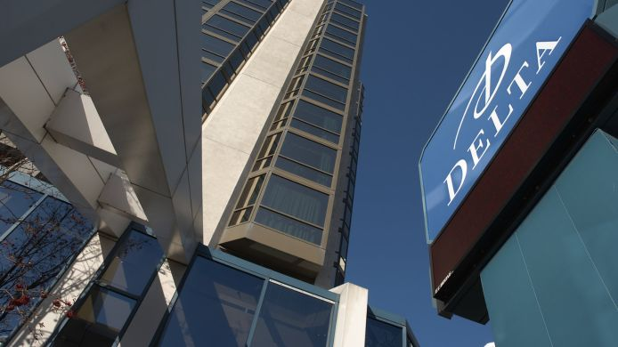 Exterior View Delta Hotels St John S Conference Centre