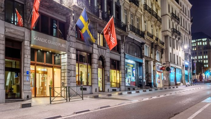 Exterior view Scandic Grand Place