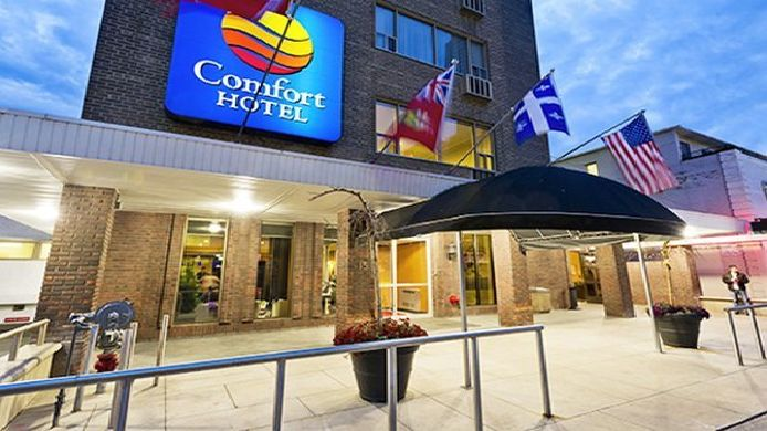 Exterior view Comfort Hotel Downtown