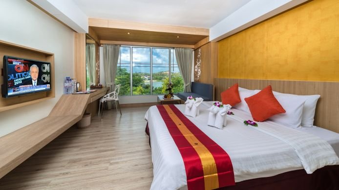 Room with a view of the lake Chaba Samui Resort