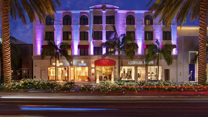 Exterior View Luxe Rodeo Drive Hotel
