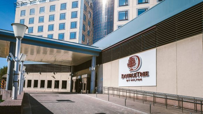 Exterior view DoubleTree by Hilton Hotel Tyumen