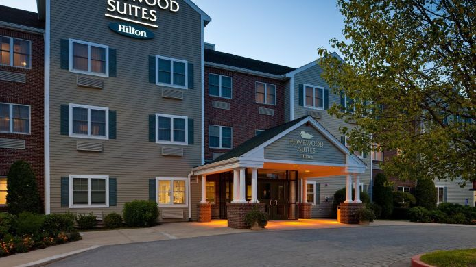 Exterior View Homewood Suites By Hilton Boston Andover