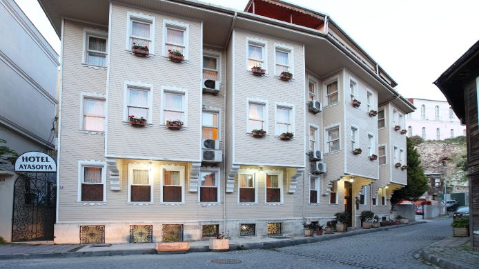 Exterior View Ayasofya Hotel Old City