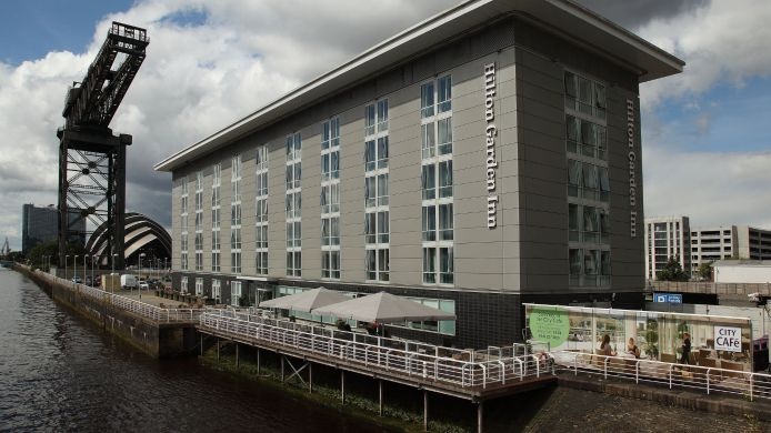 Exterior View Hilton Garden Inn Glasgow City Centre