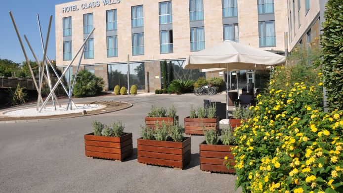 Exterior view Class Valls Hotel