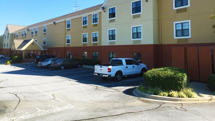 Exterior view EXTENDED STAY AMERICA GSP AIR