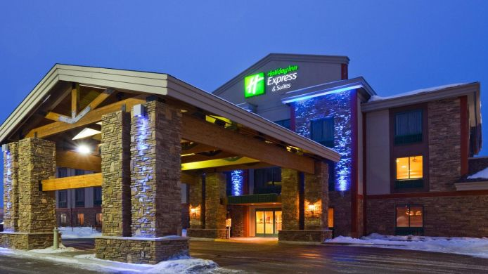 Exterior View Holiday Inn Express Suites Brainerd Baxter