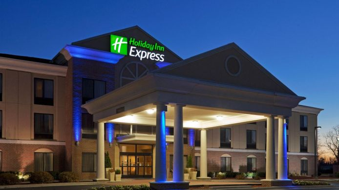 Exterior View Holiday Inn Express Suites Martinsville Bloomington Area