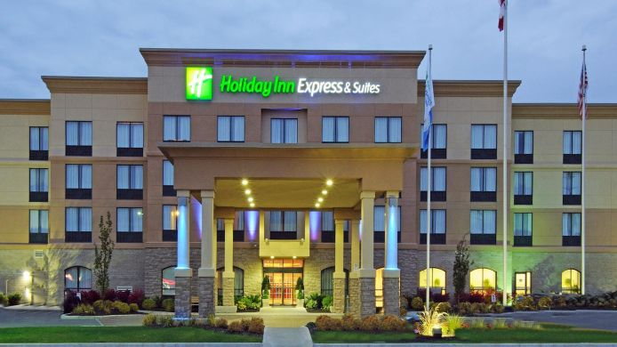 Buitenaanzicht Holiday Inn Express & Suites BELLEVILLE