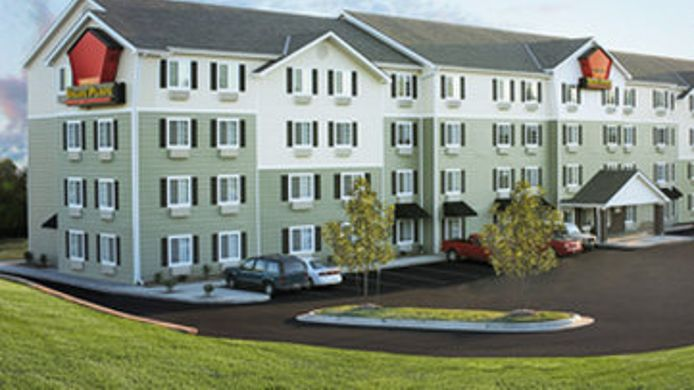 Exterior View Woodspring Suites Ankeny