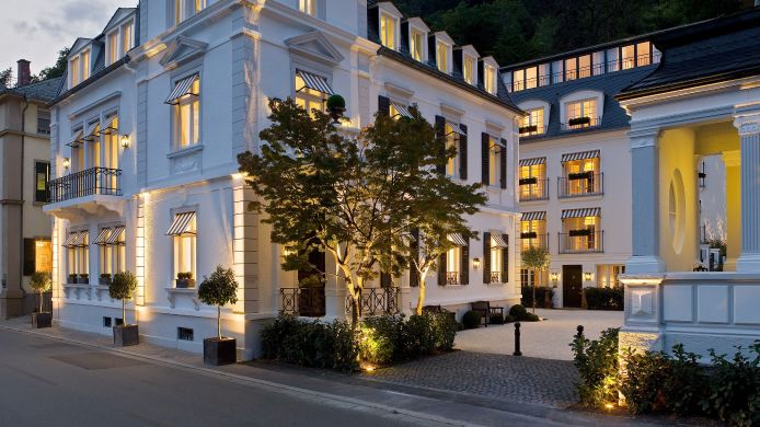 Exterior View Boutiquehotel Heidelberg Suites Small Luxury Hotels Of The World